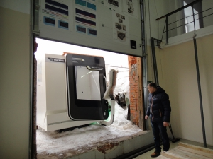 Установка фрезерного станка